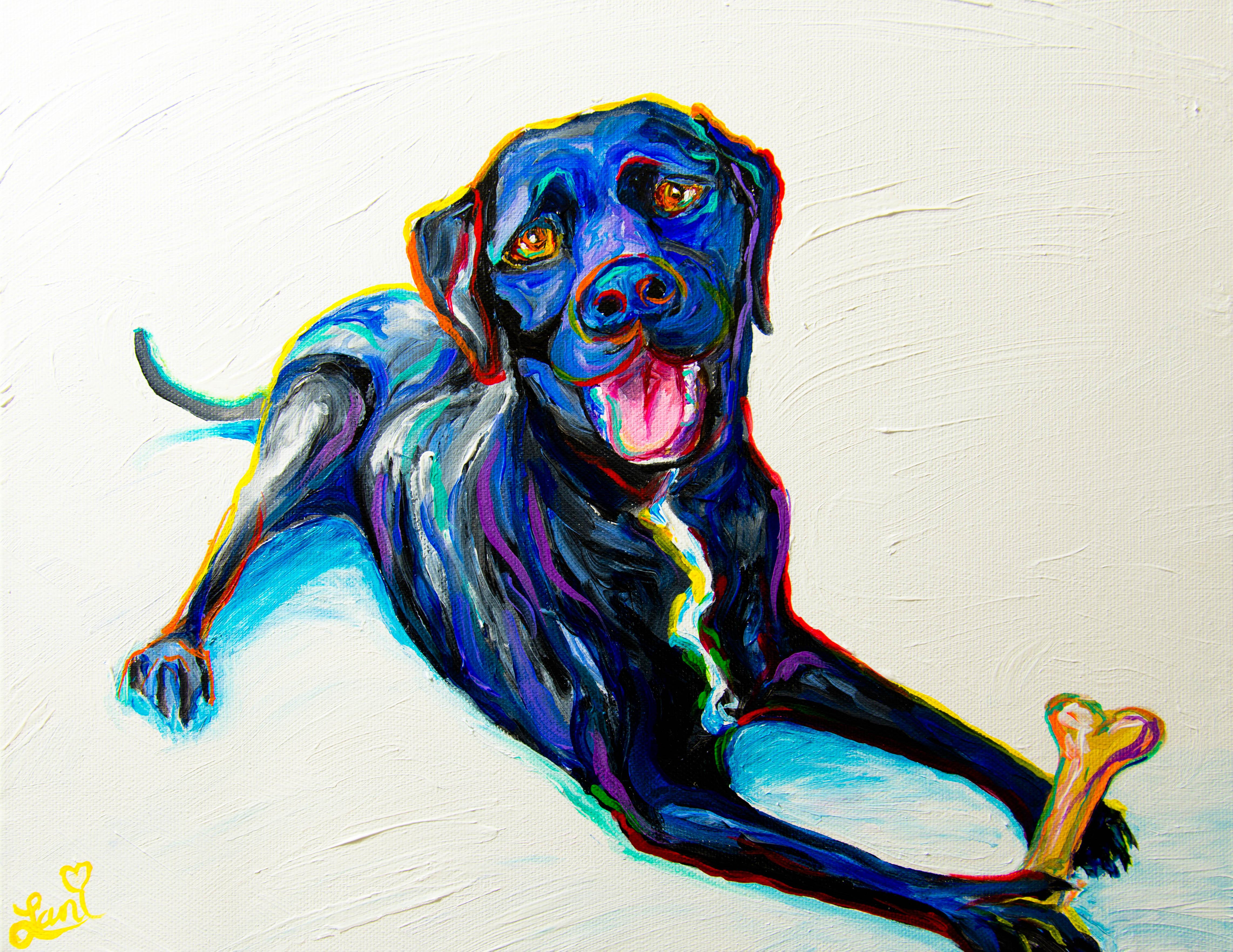 Monty 11x15 acrylic on canvas