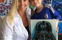 Max Page (Little Darth Vader) 2012