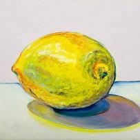 """Lemon"" 11×14 oil on canvas"