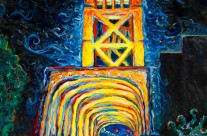 """Tower Bridge"" 30×40 oil on canvas"